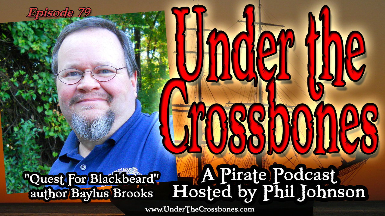 Quest For Blackbeard author Baylus Brooks