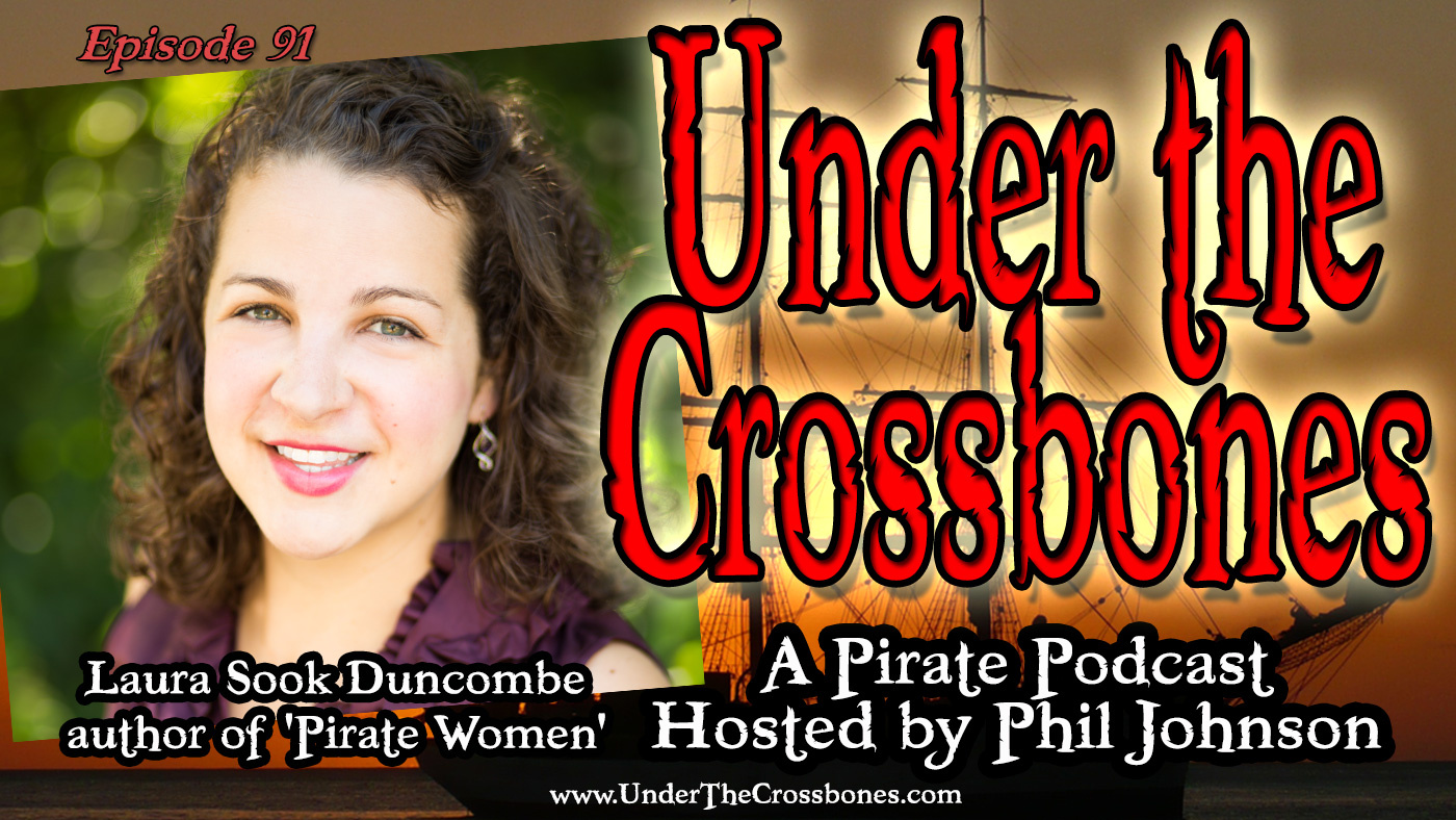 Laura Sook Duncombe author of Pirate Women