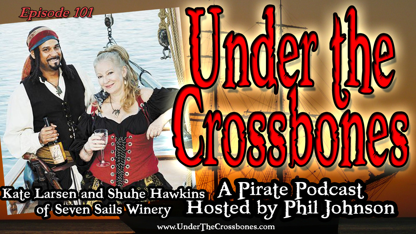 Kate Larsen and Shuhe Hawkins of Seven Sails Winery