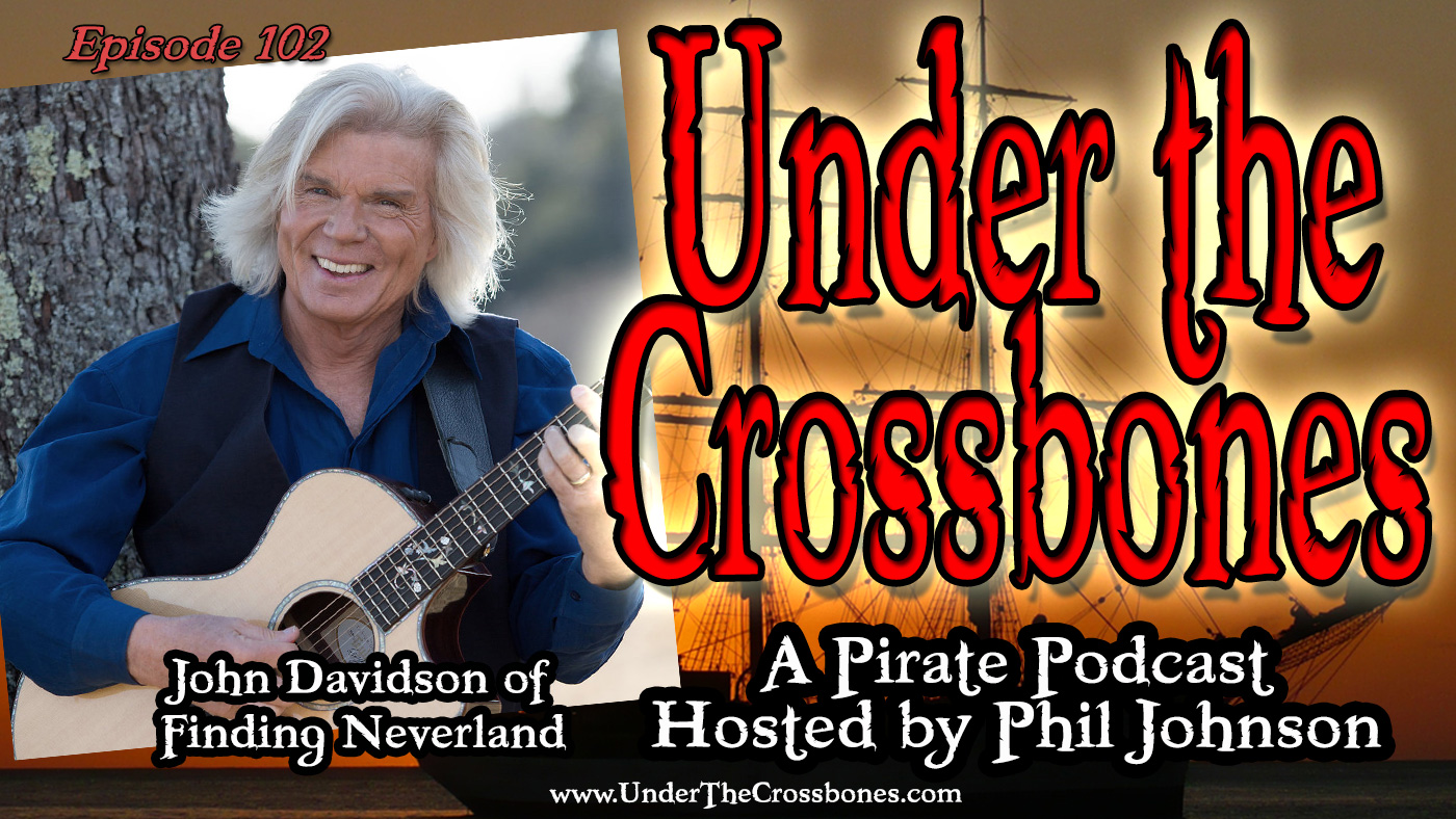 John Davidson of Finding Neverland The Musical
