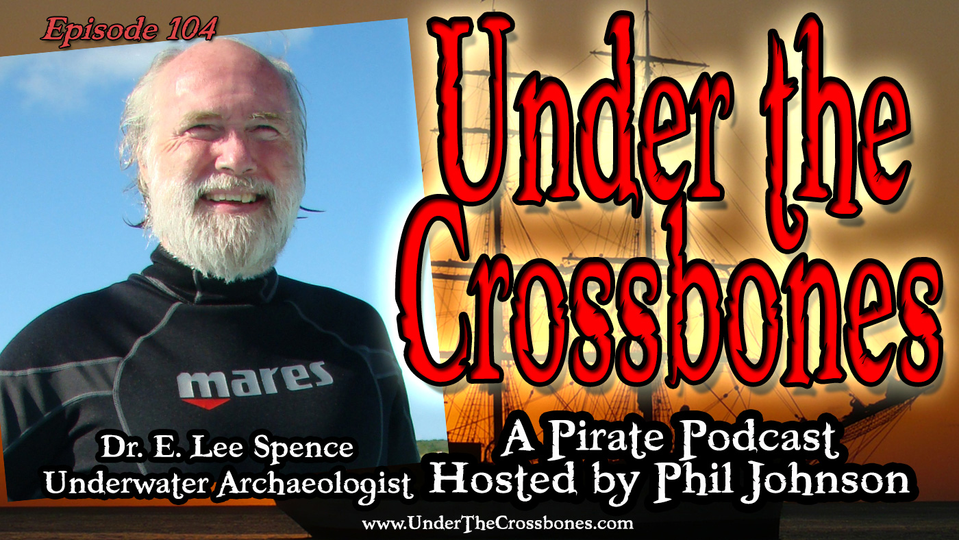 Underwater Archaeologist Dr E. Lee Spence